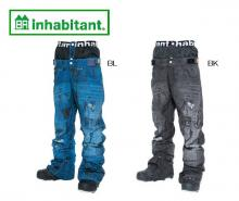 inhabitant インハビタント PANEL-PRINT DENIM PANTS 15-16【50%OFF】
