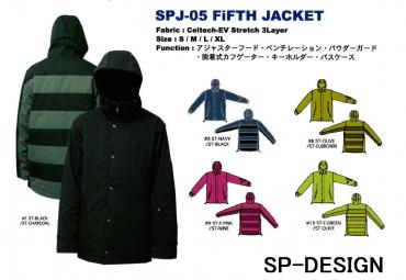 SP-DESIGN エスピーデザイン FIFTH JACKET SPJ-05 15-16【50%OFF】